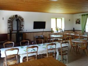 Salle à manger de l'Hôtel l'Annexe